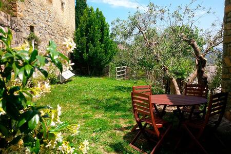 Cottage with terrace & garden - Banastón Usana  - Hus