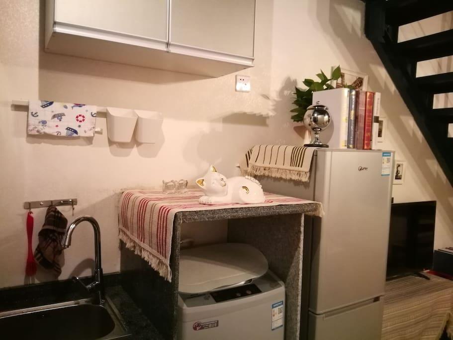 洗衣机、冰箱
