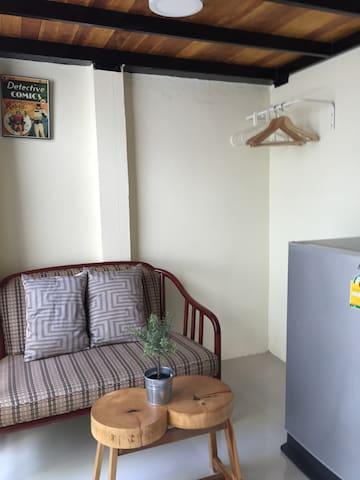Mini chic Loft in city BKK  /WIFI