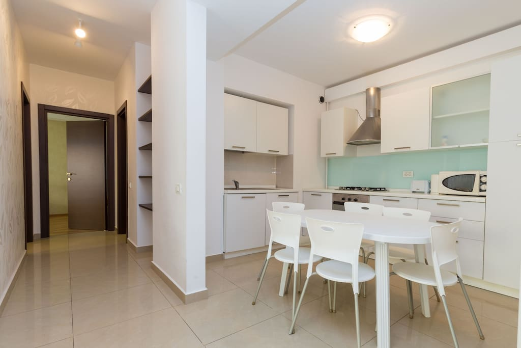The kitchen is equipped and furnished and these facilities are ideal for families with kids.