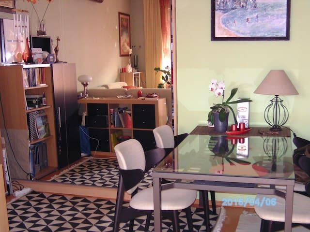Die Insel der Ruhe (ein Zimmer) - Boedapest - Condo