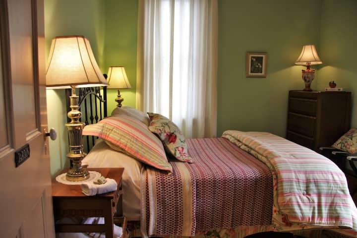 Chambre Jardin - Gîte Chêne et capucine