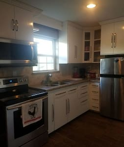Private 2 bedroom apartment- big kitchen, balcony