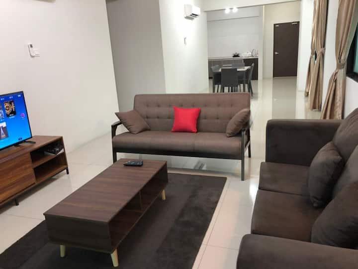 Kinta Riverfront apartment suites (BM2) 6PAX