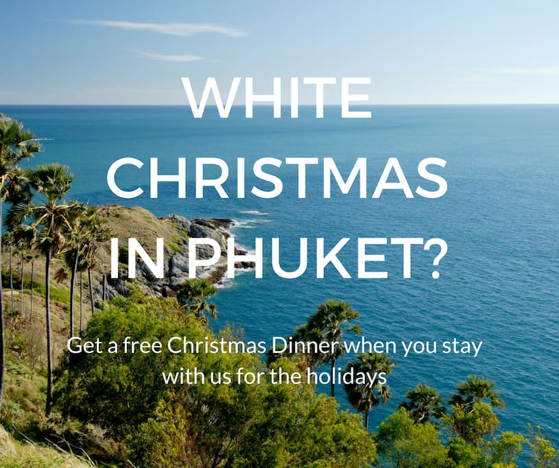 Airbnb guests that stay on Christmas Day get a free holiday dinner catered to the villa! Ask for more details.
