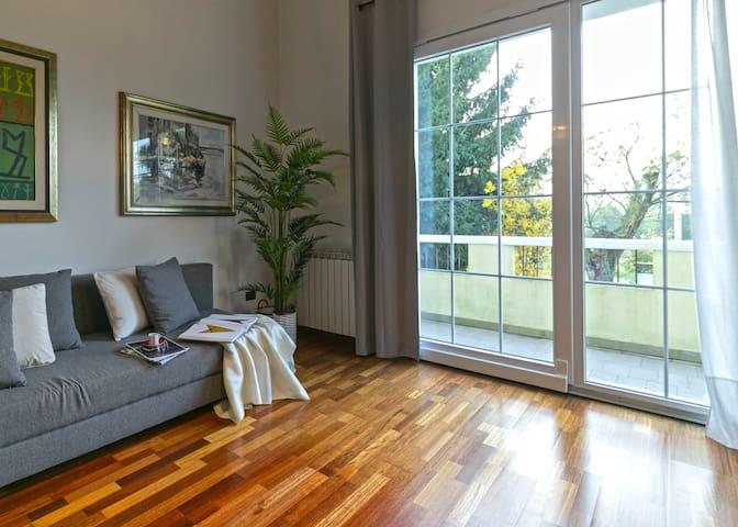 Très lumineux appartement Ca' Solaro