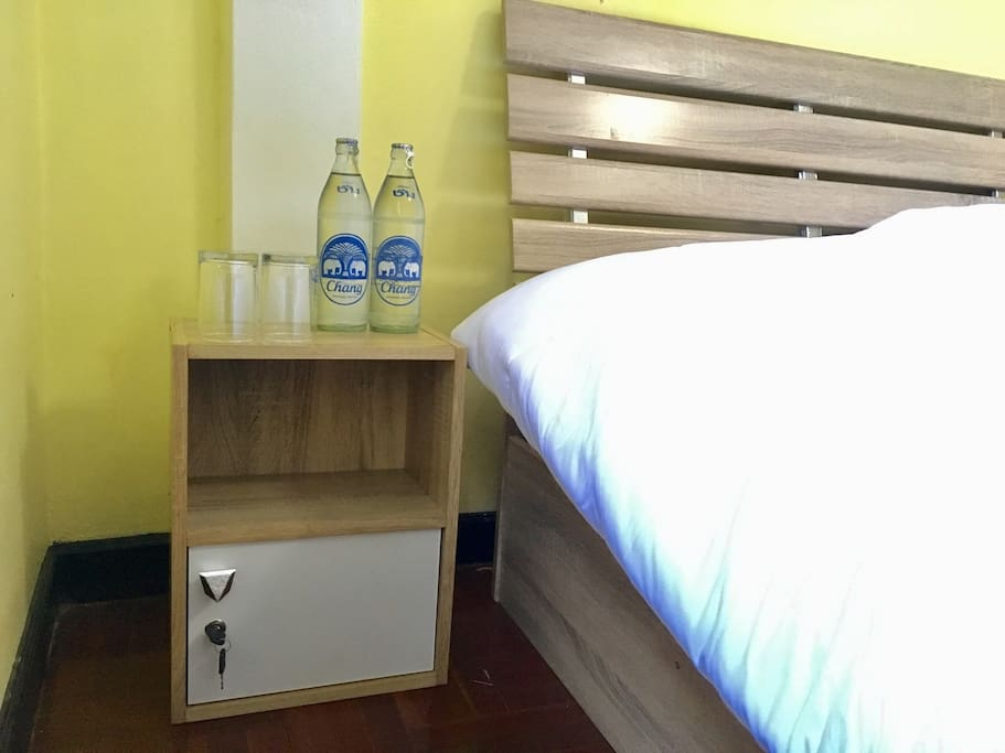 Complimentary 2 bottles of drinking water