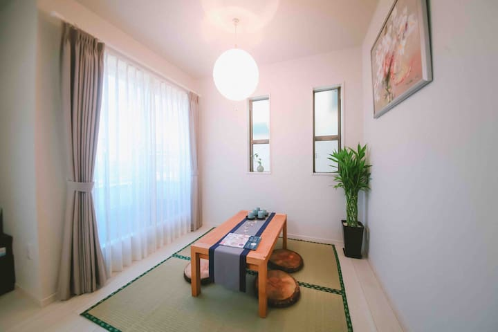 New★8ppl, near Ikebukuro sta. Whole house, Wifi
