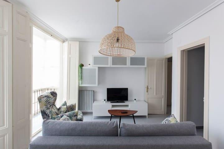 Apartamento 2 habitaciones  pleno centro Santander