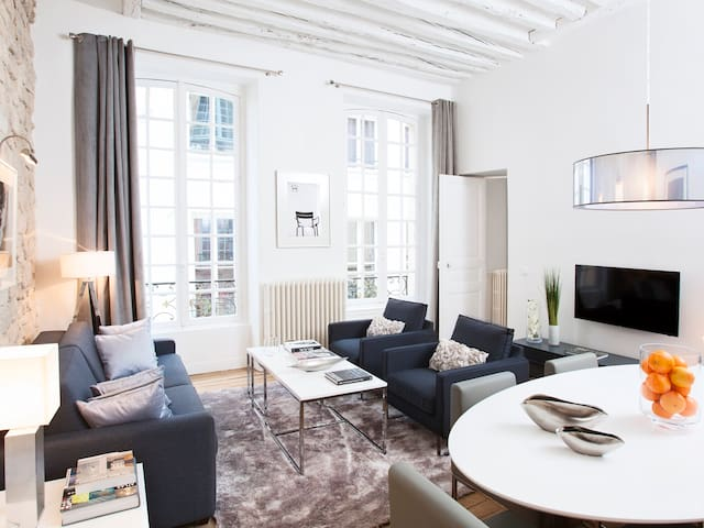 LUXURY 2 BEDROOM LE MARAIS 1