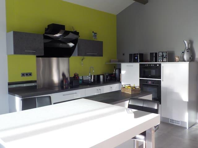 appartement calme avec spa et vue imprenable - Saint-Génies-de-Fontedit - Casa