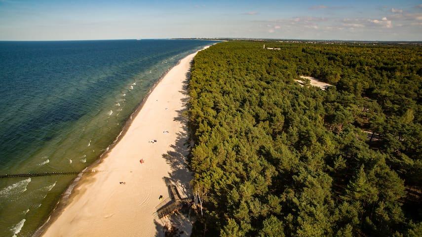 Pelikan Resort - Całoroczne domki przy samej plaży