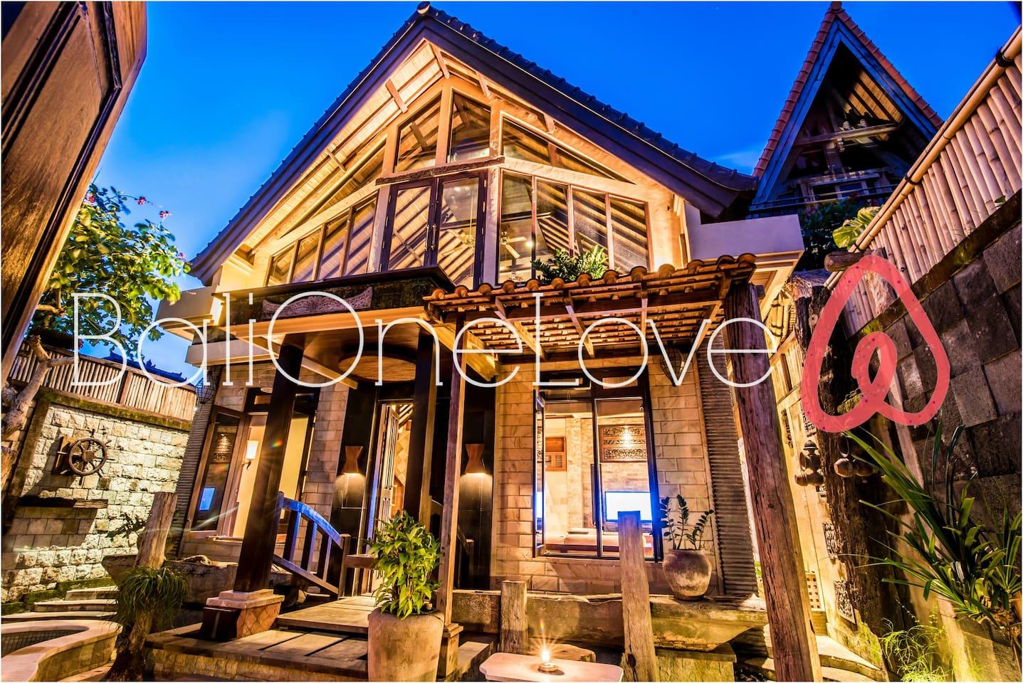 Gorgeous BaliOneLove Villa #1, Garden & Pool - Villas for Rent in ...