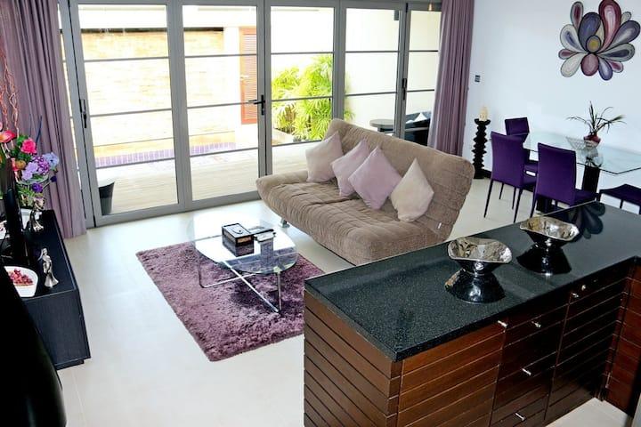 Luxury pool Villa 1 bedroom  near beach