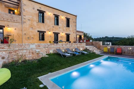 Luxury Stone Villa near Rethymno with heated pool - Perama