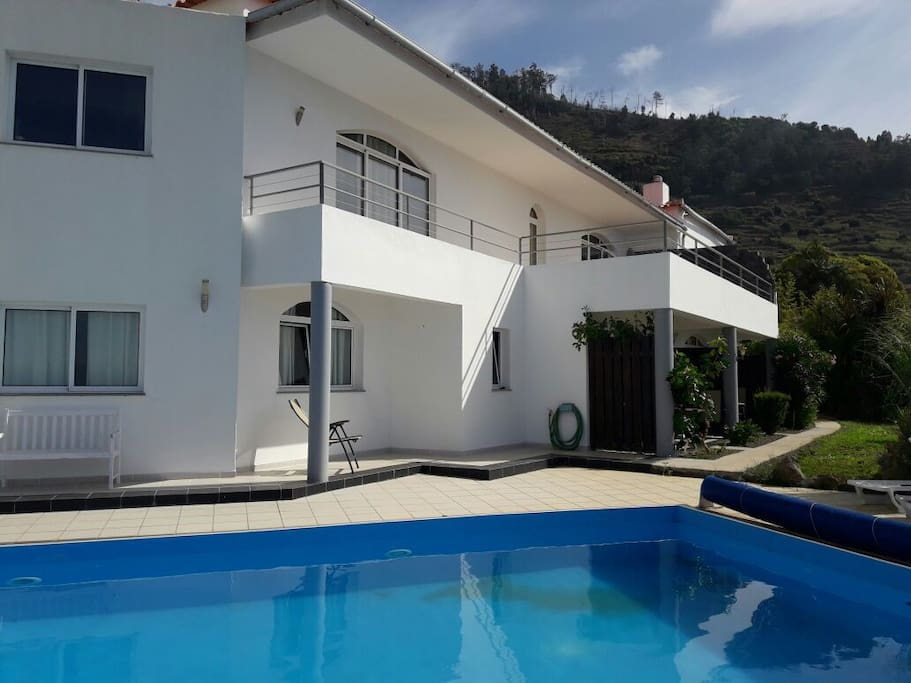 The house from outside, the 2 apartments are on the right, you have separate entrance and privacy