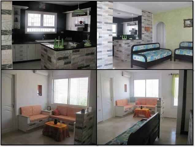 appartement 80m2 à 5min de la plage - Nabeul - Daire