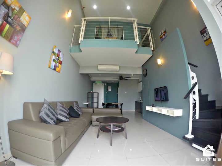 Duplex Suite #5mins to Midvalley #15mins to KLCC