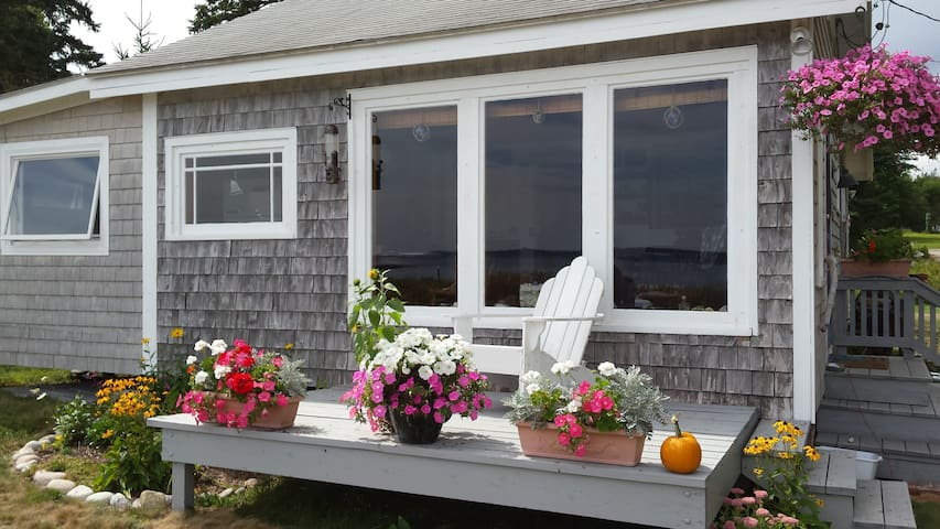 A Charming Beachfront Cottage in Downeast Maine - Jonesport - Casa