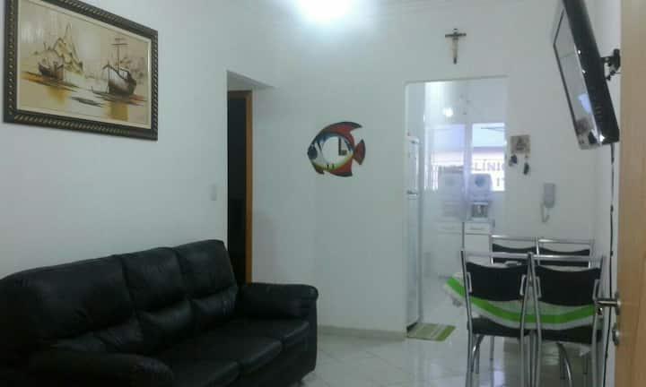 Apartamento para 8 pessoas  em Ubatuba Itagua!
