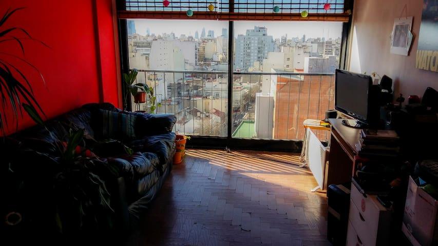 Cómodo departamento - Apartment with amazing view - Buenos Aires - Departamento