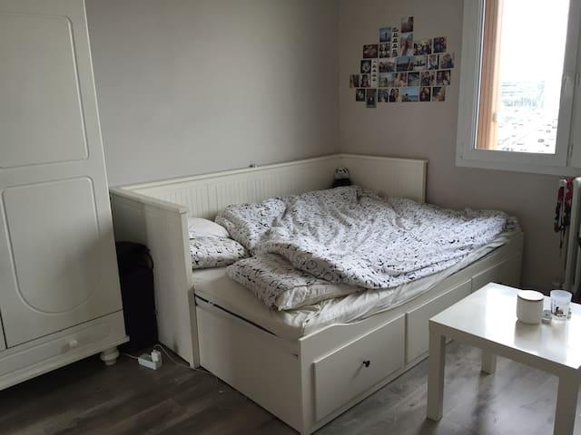Lovely room in a 40m2 apartement - Ivry-sur-Seine - Huoneisto