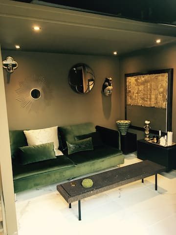 Studio coup de cœur avec grande terrasse privative - Rouen - Apartment
