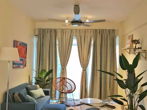 Port Dickson Glory Beach Resort Apartment 7pax 3BR