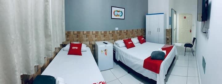 Hotel! Suite espetacular 104 COM CAFÉ DA MANHÃ