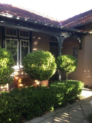 Charming, Federation style cottage - Mosman - Dom