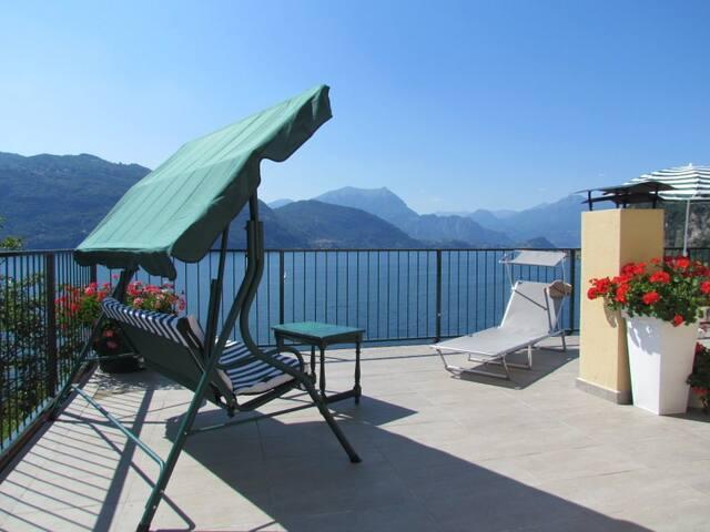 B&B Lago Blu splendida vista lago
