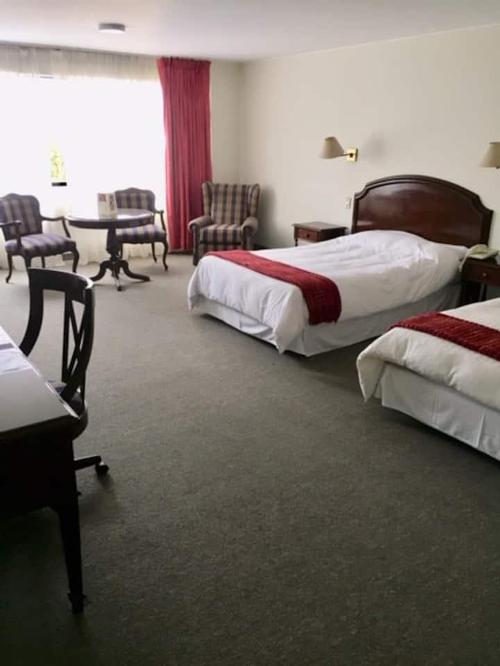 Suites espaciosas y bien ubicadas