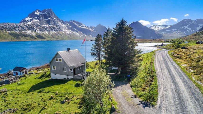 Selmas house at little Krystad place