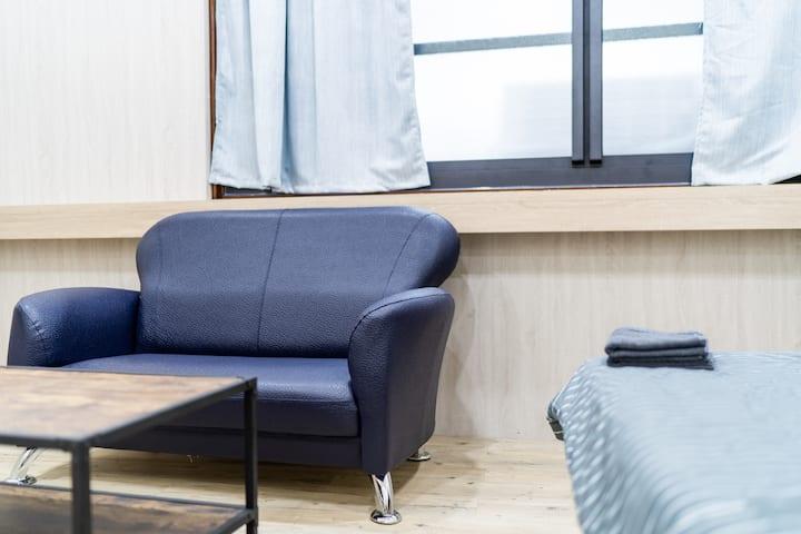 五妃A/簡單/乾淨/高cp套房/為旅客們減輕一點住宿的負擔