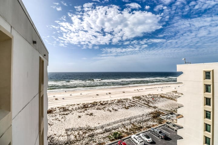 NEW! Waterfront condo at Island Winds w/ views & pool - moments from the beach