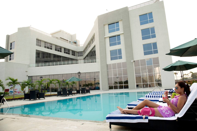 Resort Swimming Pool View