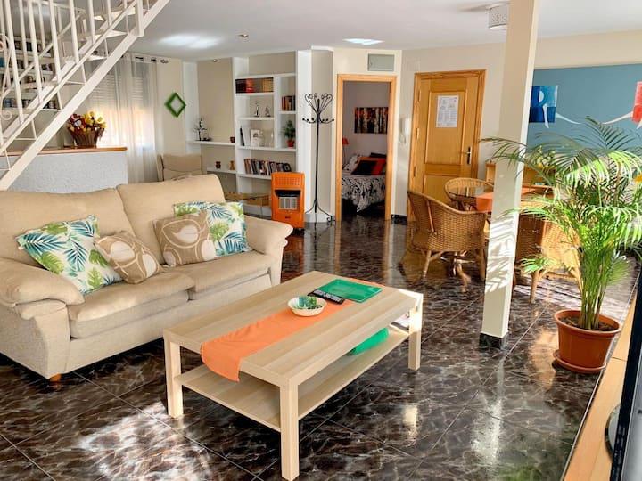 Apartamento diáfano y luminoso en Onil