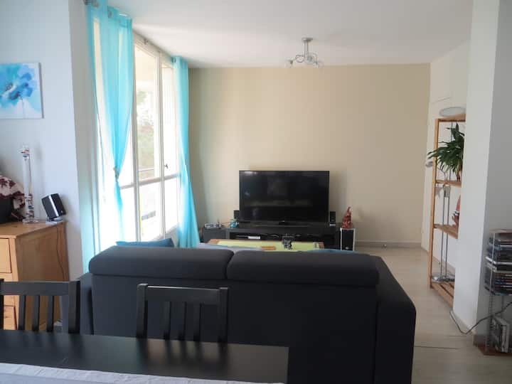 Appartement T2 55m2 très calme et lumineux