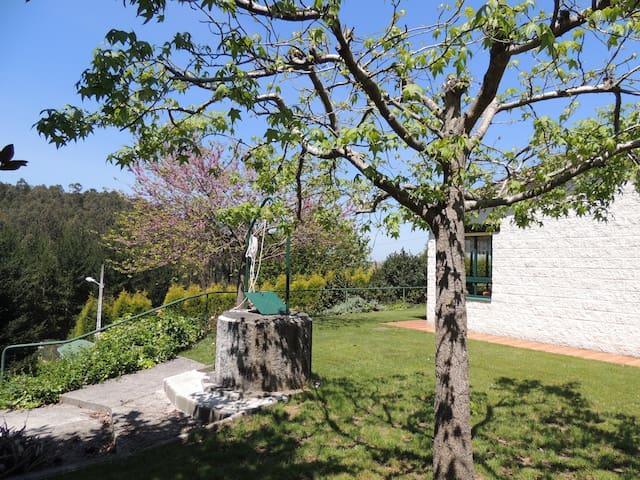 Casa para 2-4 personas con piscina - Abegondo - Rumah