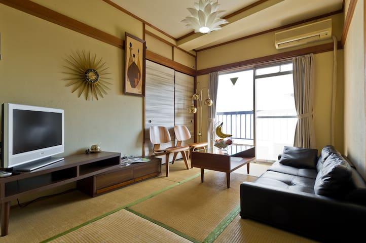 Shibuya Japanese-style room 2DK + Wifi + Pkt Wifi
