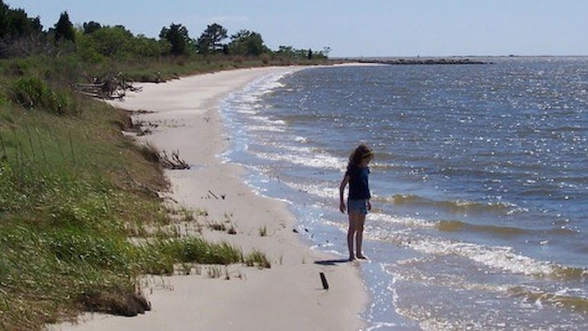 Nanticoke Beach. A Chesapeake Getaway