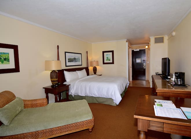 Simple yet elegant accommodations
