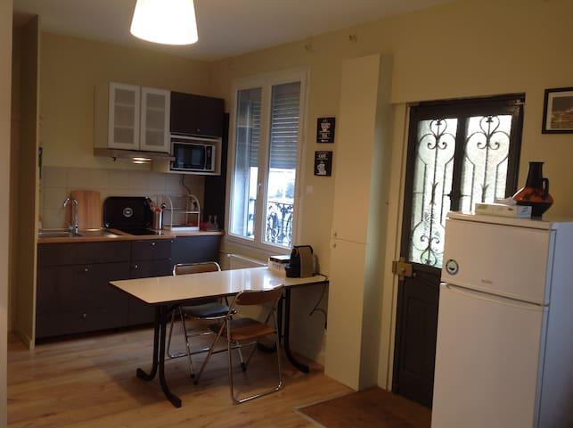 Agréable et petite  maison à proximité de Paris . - Villeneuve-Saint-Georges - Hus