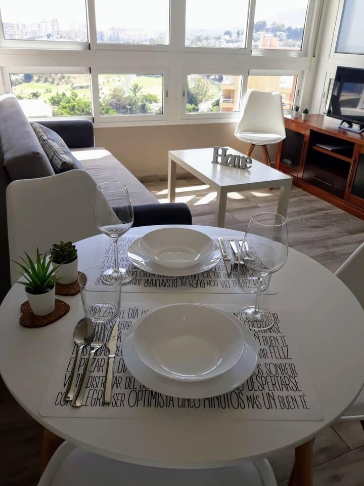 ¡¡¡ Acogedor Apartamento Con Vistas Infinitas !!!