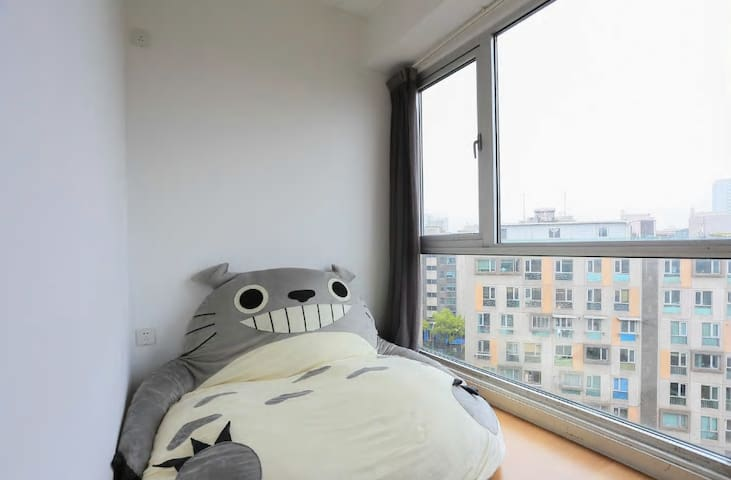 【大学路】龙猫床 @ 复旦大学 / Totoro Bed @ Fudan University - Shanghai - Apartment