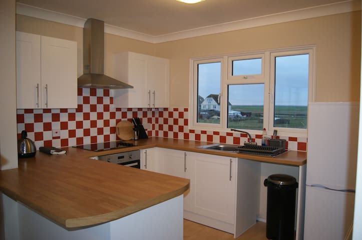 Fully fitted and equipped, modern kitchen