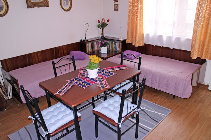 Spacious apartment 5 minutes away from the beach - Varna - House