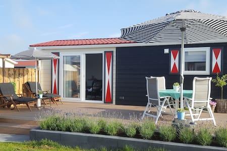 4 persoons luxe chalet in Zeeland (Walcheren) - Serooskerke