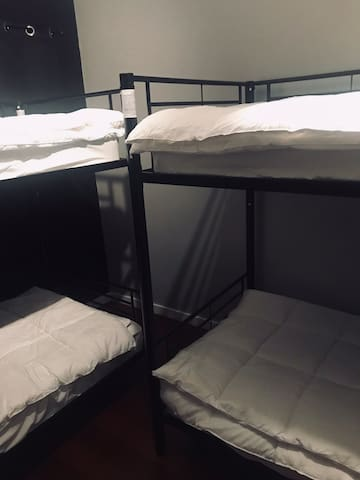 Unisex Bunked Space 2 - Top Bunk 4