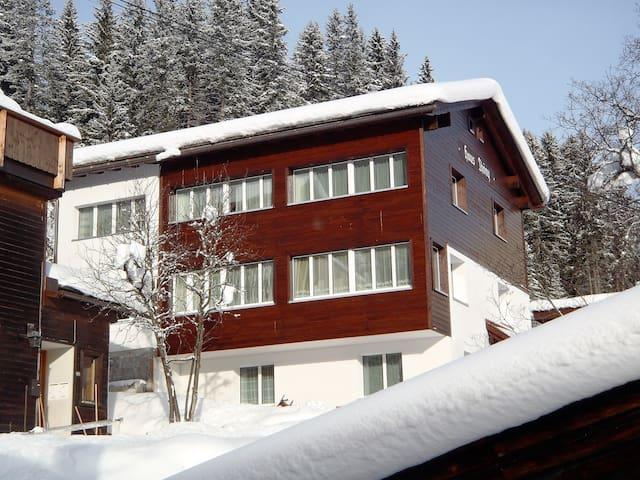 Haus Thöny seen from Tschuggen Ost Chair Lift